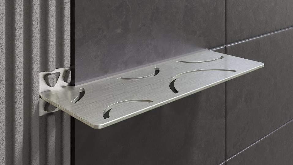 Schlüter®-SHELF - Étagères esthétiques pour murs carrelés | Schlüter